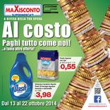 Maxisconto - Al costo