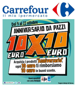 Carrefour Ipermercati - Anniversario da pazzi
