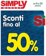 Simply Market - Sconti fino al 50%