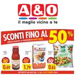 A&O - Sconti fino al 50%