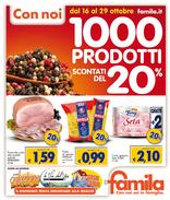 Famila - 1000 prodotti scontati del 20%