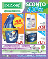 IperSoap - Sconto 40%