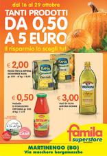 Famila Superstore - Tanti prodotti da 0,50 a 5 euro