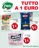 Pam - Tutto a 1 euro