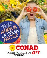 Conad City - Arriva la spesa facile! Nuova apertura a Torino