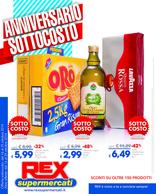 Rex supermercati - Anniversario sottocosto