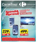 Volantino Carrefour Ipermercati - Tecnologia Spendi&Riprendi