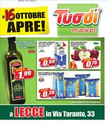 Volantino Tuodì - Tuodì Apre Lecce