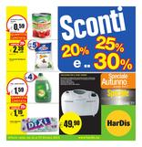 Hardis - Sconti 20%, 25% e 30%