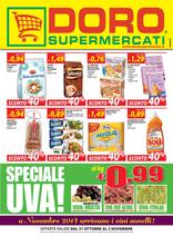 Doro Supermercati - Speciale uva!