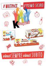 Kinder Ferrero - K-people.it: vinci sempre, vinci subito!