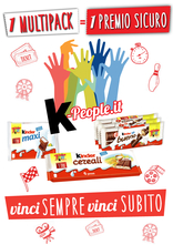 Kinder Ferrero - K-people.it: vinci sempre, vinci subito!