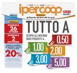 Ipercoop - Tutto a 0.50€, 1, 2, 3, 5€