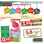 Crai - Tanti prodotti a 0.50€, 1, 1.5€, 2, 2.5, 3€