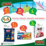 Crai - 0.50€, 1, 1.5€, 2, 2.5, 3€ Piccoli prezzi, grande risparmio