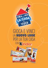 Kinder Ferrero - Crea con noi la casa che vuoi