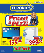 Volantino Euronics - Prezzi a pezzi
