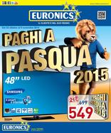 Euronics - Paghi a Pasqua