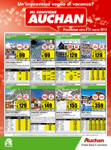 Auchan - Vacanze - categoria viaggi