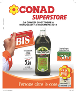 Conad Superstore - Operazione Bis
