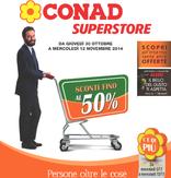Conad Superstore - Sconti fino al 50%