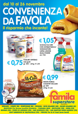 Famila Superstore - Convenienza da favola