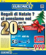 Volantino Euronics - Regali di Natale? Ci pensiamo noi