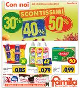 Famila - Scontissimi 30% 40% 50%