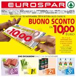 Eurospar - Buono Sconto da 10 Euro!