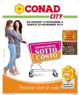 Conad City - Grandi marche sottocosto