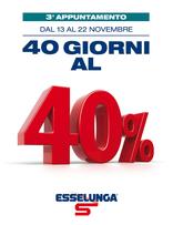 Esselunga - 40 giorni al 40%: 3° appuntamento