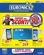 Euronics - Caccia agli sconti fino al 30%