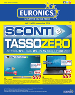 Euronics - Sconti e tasso zero