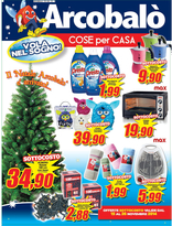 Volantino Arcobalo' - Il Natale Arcobalò è arrivato!
