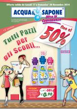 Acqua & Sapone - Tutti pazzi per gli sconti... fino al 50%