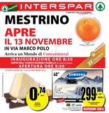 Interspar - Mestrino apre il 13 novembre