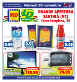 LD Market - Grande Apertura Santhià
