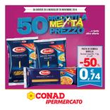 Conad Ipermercato - 50 prodotti a metà prezzo