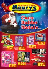 Volantino Maury's - Caro Babbo Natale...