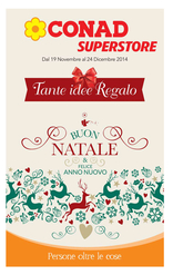 Conad Superstore - Tante Idee Regalo
