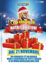 Volantino Euronics - Ȉ in arrivo un Natale da leoni