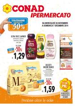 Conad Ipermercato - Tantissimi prodotti al 50%