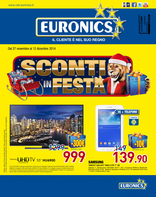 Euronics - Sconti in festa da Euronics!