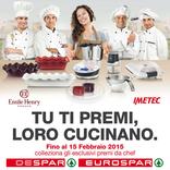 Eurospar - Catalogo Sponsor: tu ti premi, loro cucinano!