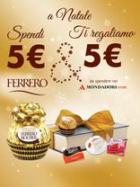 Ferrero - A Natale spendi 5€ e ti regaliamo 5€