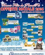 Volantino Planet Pet - Offerte Natale 2014