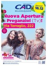 CAD Bellezza & Igiene - Nuova apertura a Preganziol!