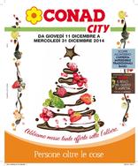 Conad City - Abbiamo messo tante offerte sotto l'albero.