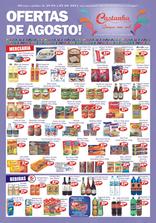 Supermercado Castanha - Ofertas de Agosto