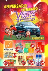Violeta supermercados - Aniversário premiado Violeta
